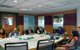 Visit of Secretary, MEITY